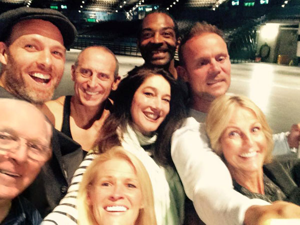 ITV's Gladiators Reunion Selfie